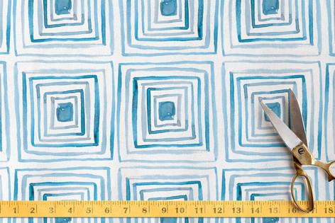 Mod Cubes Fabric