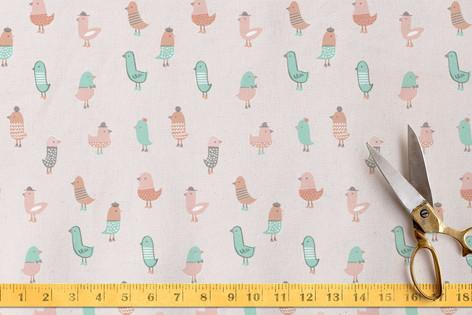 Dapper Birdie Fabric