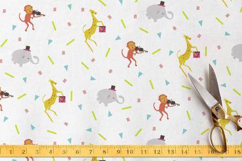 Party Animals Fabric