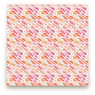 Coral Dreams Fabric