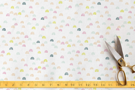 Mountains of Merriment Fabric
