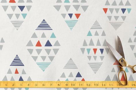 Tetrahedron. Fabric