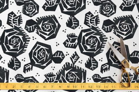 Tribal Rose Fabric