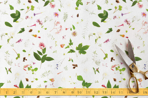 Cloudforest Blooms Fabric