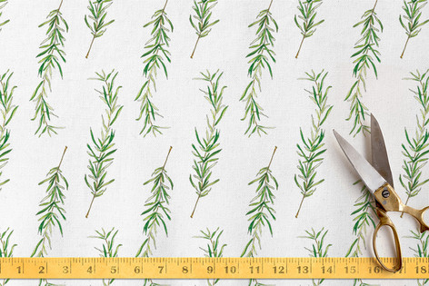 Simple Sprig Fabric