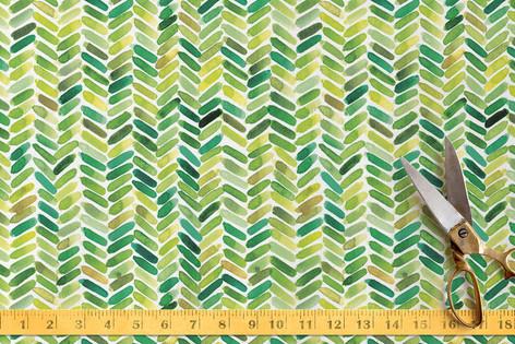 Watercolour Herringbone Fabric