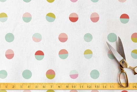 GeoCircles Fabric