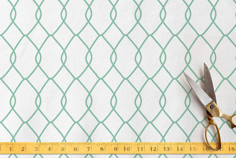 Linked Trellis Fabric