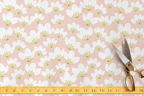Spring Beauties Fabric