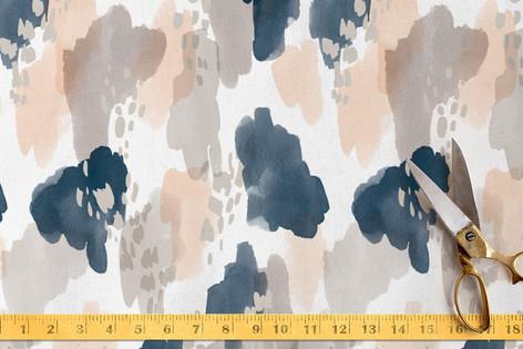 Painterly Splash Fabric