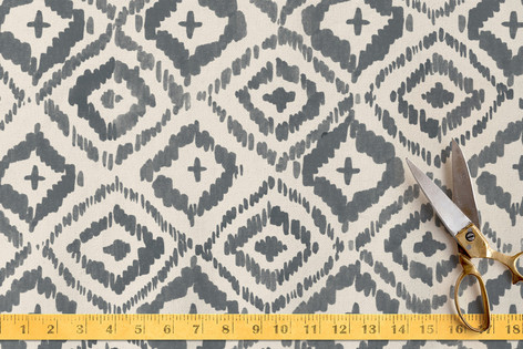 Painterly Ikat Fabric By Alethea And Ruth