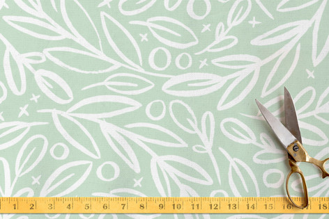 Branch Toss Fabric