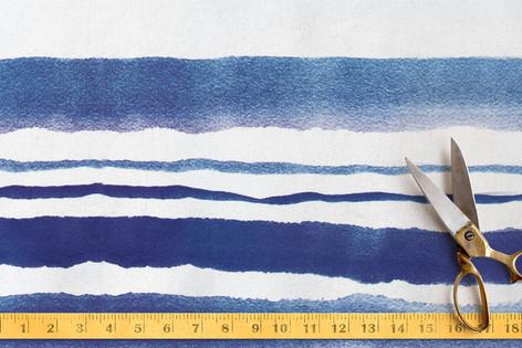 Cool Cobalt Fabric