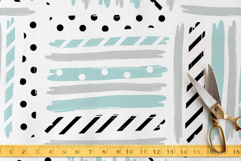 Stacked Stripes Fabric