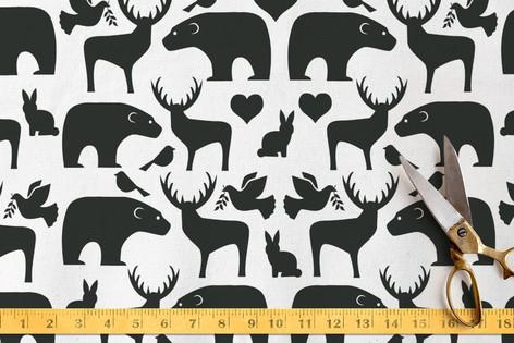 Animal Mix Fabric
