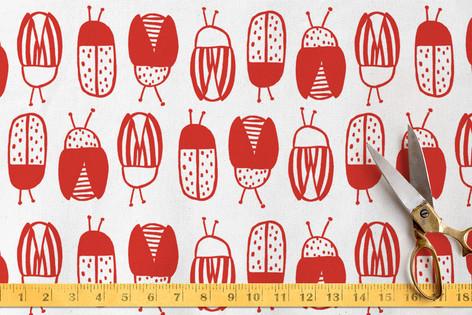 Snug Little Bugs Fabric