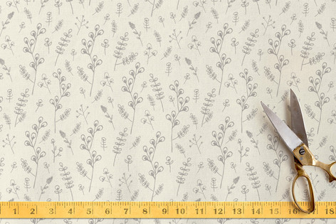 Bud Branches Fabric