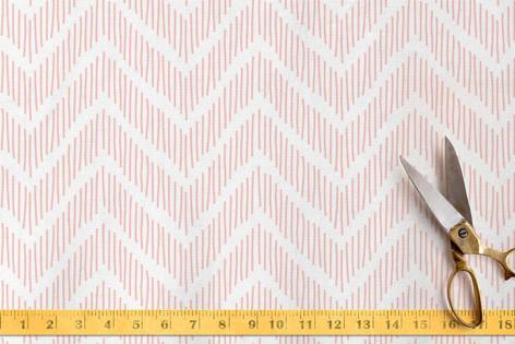 lined chevron Fabric