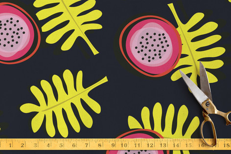 Funny Little Flowers Fabric