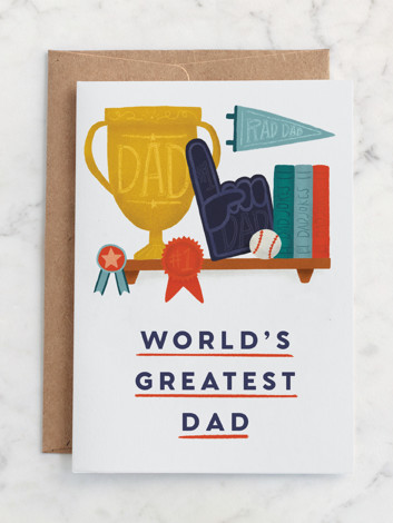 Greatest Dad, Consecutive Winner