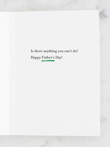 Dad Attributes