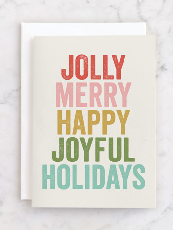 jolly words