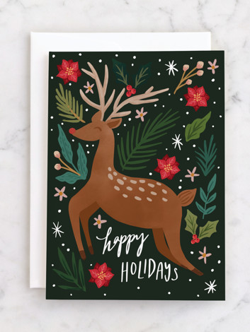 Joyous Deer