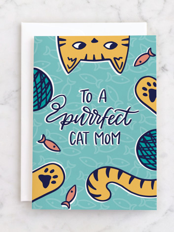 Purrfect Cat Mom