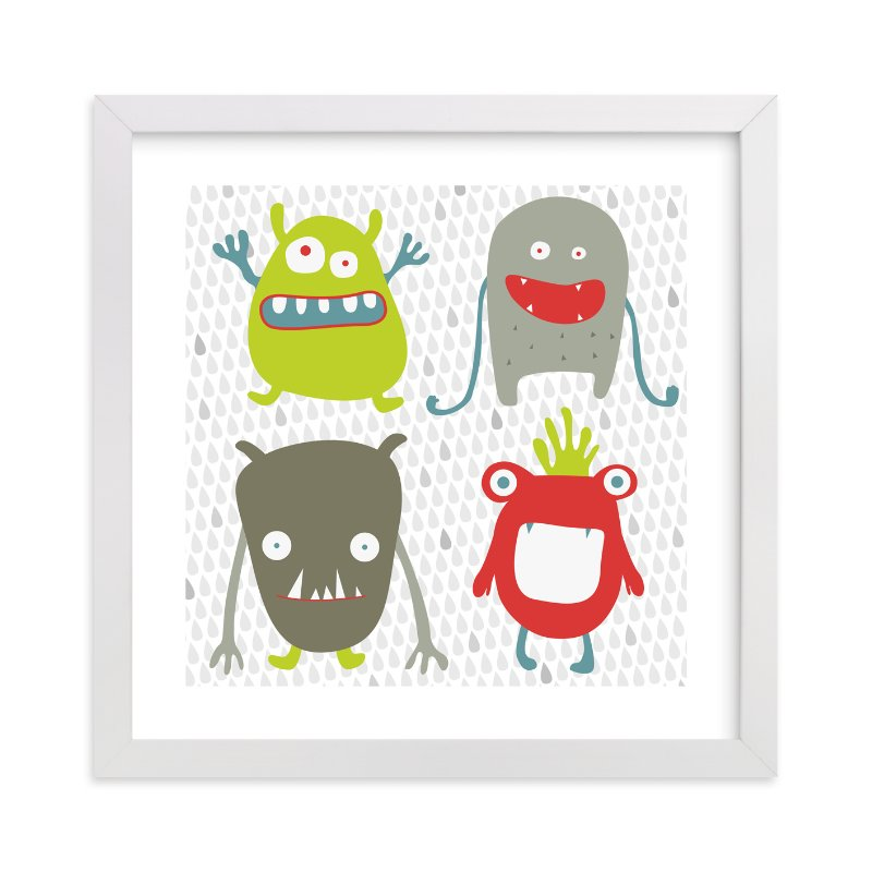 """""""Monster Mash"""" - Limited Edition Art Print by Sharon Rowan in beautiful frame options and a variety of sizes."""