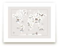 Animal World Map