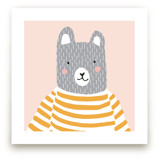 Stripe Top Bear