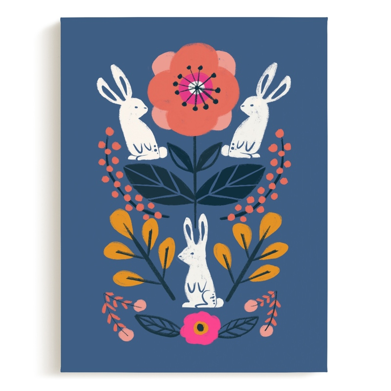 Forest Friends Nursery Art Print