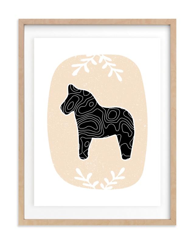 Dear Dala Nursery Art Print