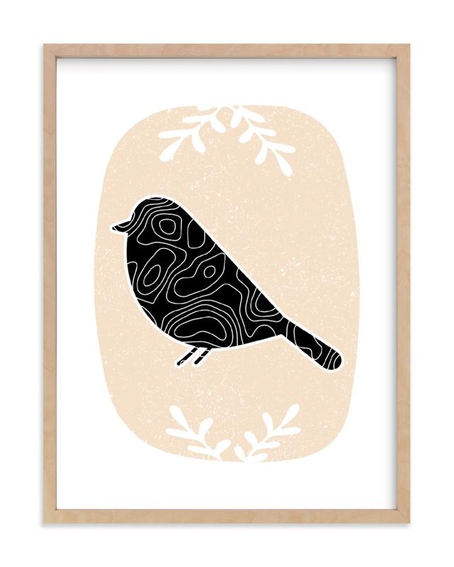 Birdie Nursery Art Print