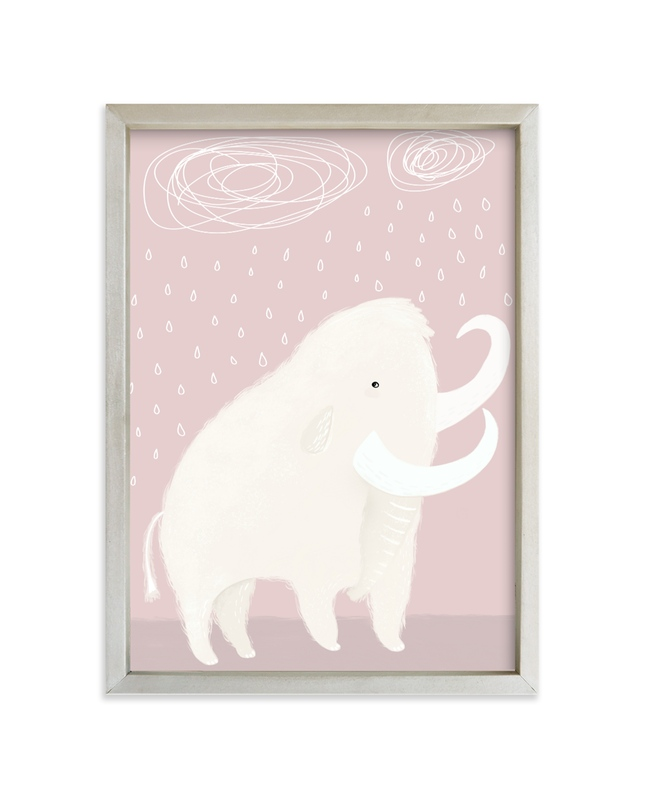 """""""Ah, there it is"""" - Limited Edition Art Print by Maja Cunningham in beautiful frame options and a variety of sizes."""