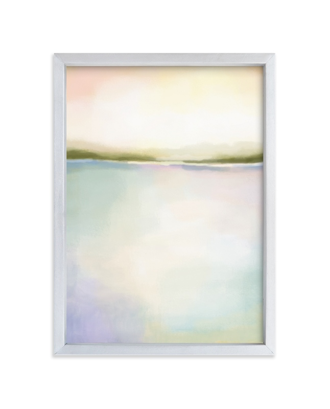 """Coral Bay"" - Limited Edition Art Print by Alison Jerry Designs in beautiful frame options and a variety of sizes."