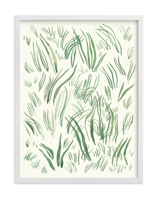 """Yerba"" - Limited Edition Art Print by Catilustre in beautiful frame options and a variety of sizes."