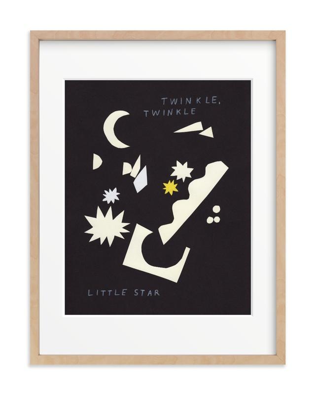 Twinkle, Twinkle Little Star Nursery Art Print