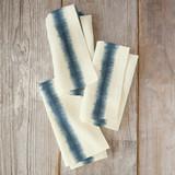 Hand-dyed Shibori Strip... by Flora Poste Studio
