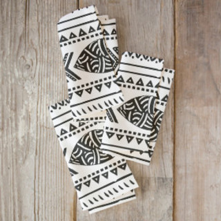 African Tribal Forest Napkins