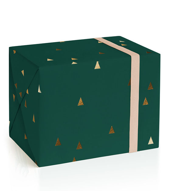 This is a green wrapping paper by Sandra Picco Design called Modern Timber.