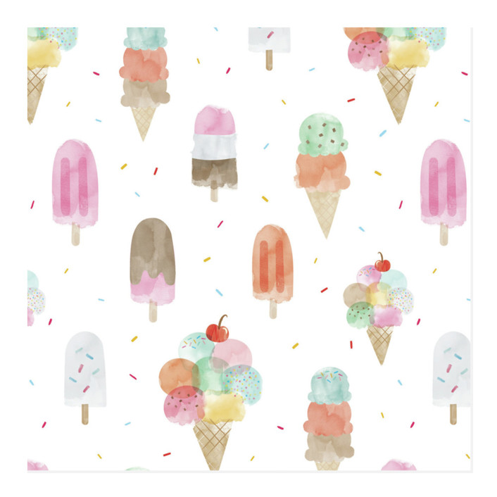Sweet Desserts Wrapping Paper