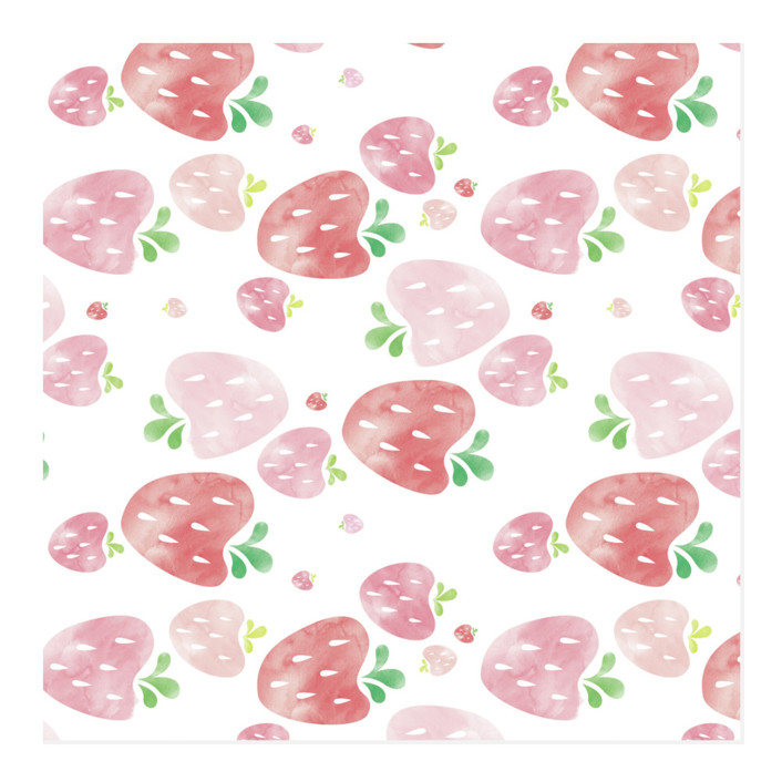 Strawberry Fields Wrapping Paper
