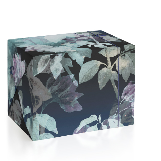Watercolour leaves pattern Wrapping Paper