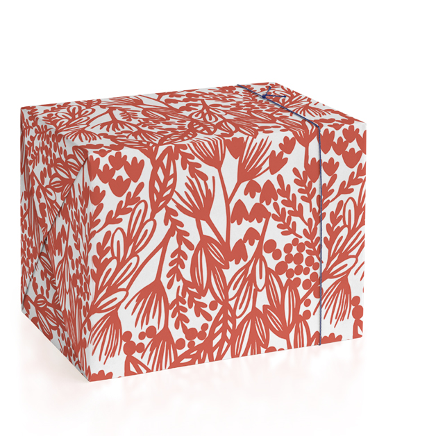 Bold Botanical Wrapping Paper