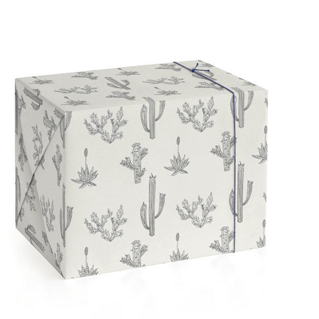 This is a beige wrapping paper by R studio called Texas Flora.