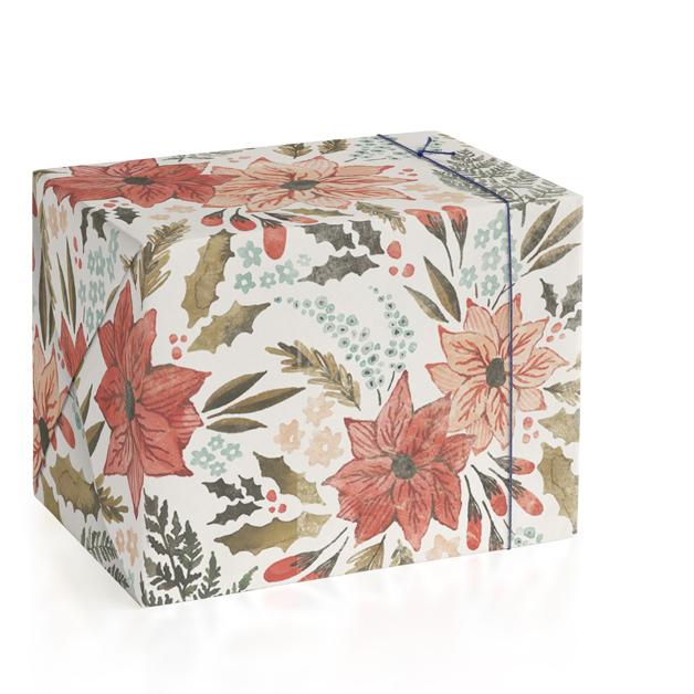 Poinsettia Garden by Wildfield Paper Co.