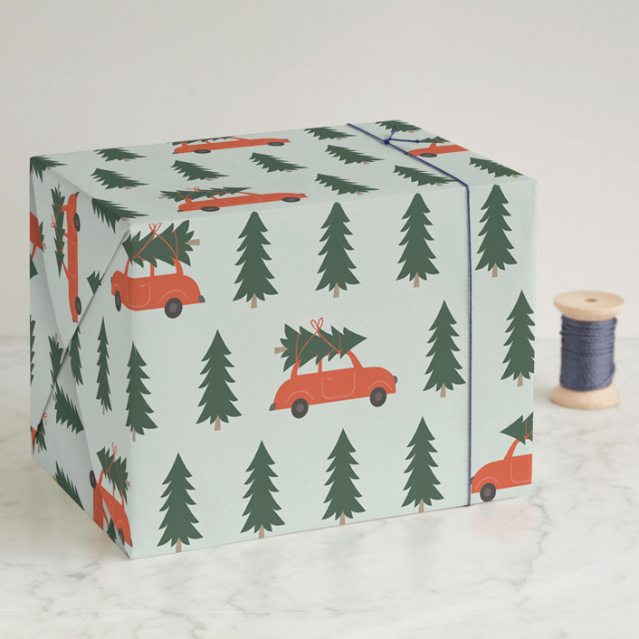 Tree Lot Wrapping Paper