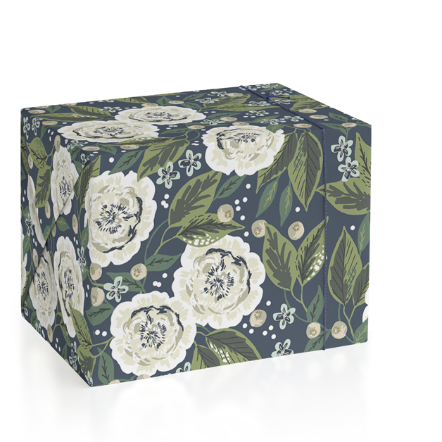 Garden Rose Vine Wrapping Paper