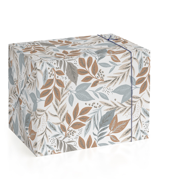 Hidden Leaves Wrapping Paper